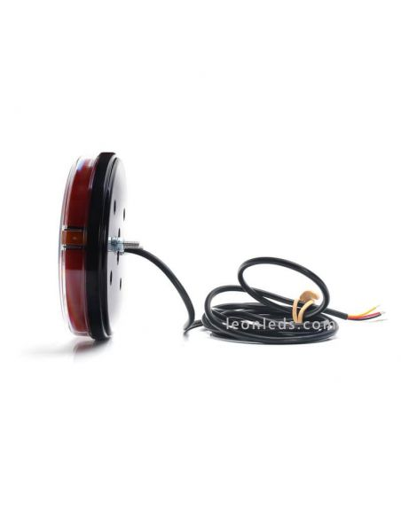 ✅ Piloto LED ultraslim redondo valido para 12V y 24V | LeonLeds Pilotos LED