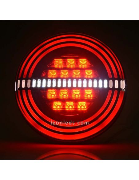 ✅ Piloto redondo LED efecto Neon Was | LeonLeds Pilotos LED Redondos