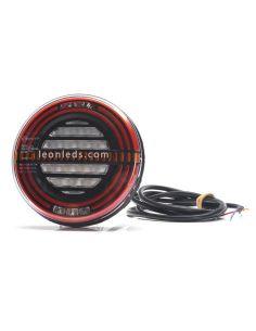 ✅ Piloto LED redondo 5 funciones efecto Neon | LeonLeds Pilotos LED