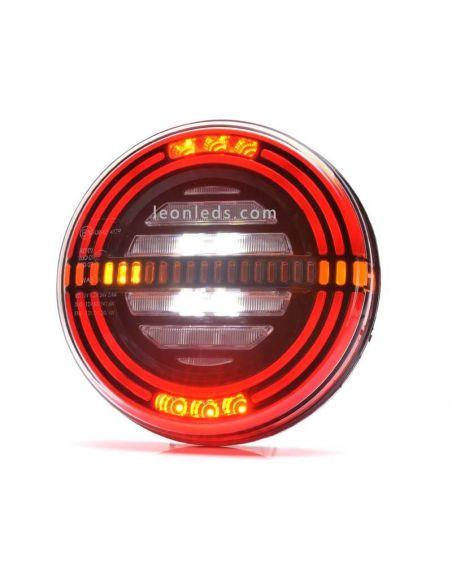 ✅ Nuevo Piloto LED redondo Was con 5 funciones | LeonLeds Pilotos LED