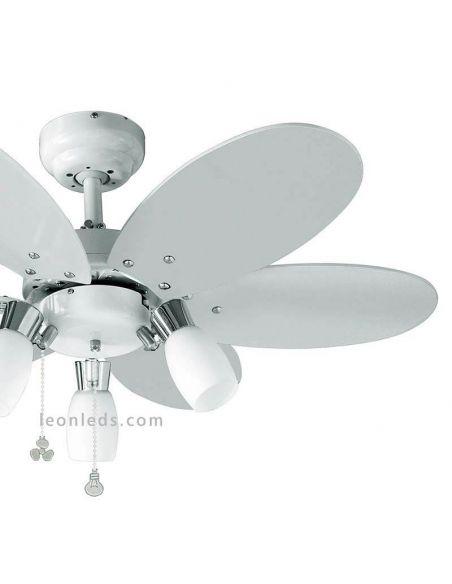 Ventilador de Techo Infantil Tones de Sulion | LeonLeds Iluminación