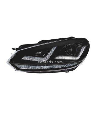 ✅ Faro delantero LED para golf VI de la marca Osram Homologado | LeonLeds Faros LED Homologados