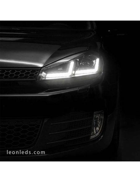 ✅ Faros delanteros GOLF 6 LED Osram LEDriving Xenarc | LeonLeds Faros LED