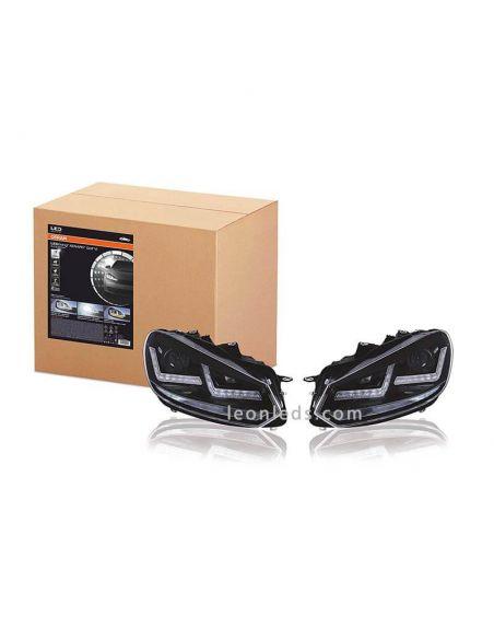 ✅ Kit 2 Faros delanteros LED Osram LEDriving Xenarc Osram | LeonLeds Faros LED