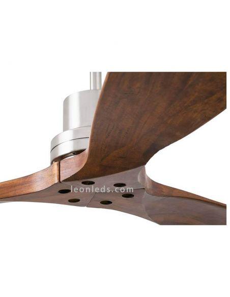 ✅ Ventilador de techo Lantau de Faro Barcelona 33370 | LeonLeds Ventiladores Faro