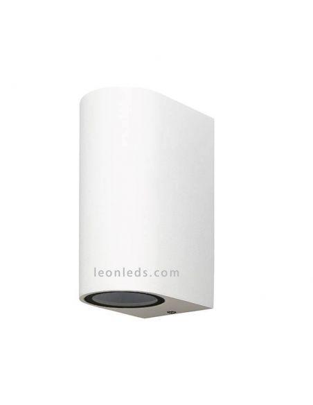 Aplique exterior Blanco vertical 6511 Kandachú | LeonLeds