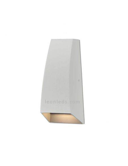Aplique exterior LED Blanco serie Jackson de Mantra | LeonLeds Apliques LED