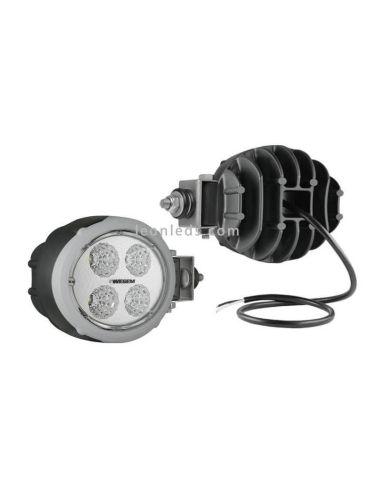 Faro de Trabajo LED para Tractor John Deer New Hollan Horizontal Wesem | LeonLeds Iluminación