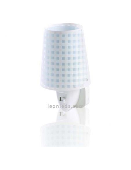 Luz de noche LED Azul Vichy | LeonLeds