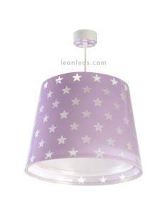 Lámpara de Techo Infantil Malva serie Stars   LeonLeds
