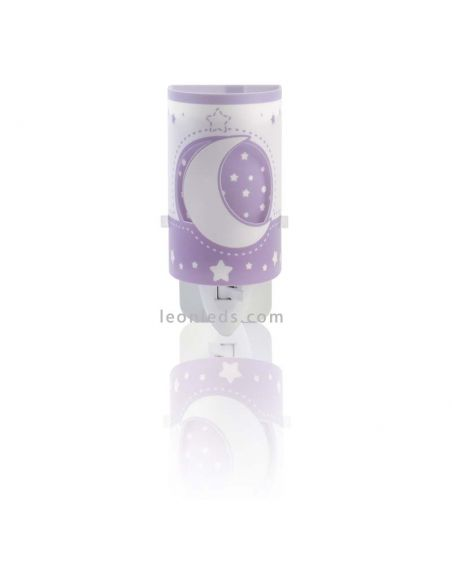Quitamiedos infantil Malva Moon Light Dalber | LeonLeds