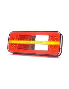 Piloto trasero LED 5 funciones Was