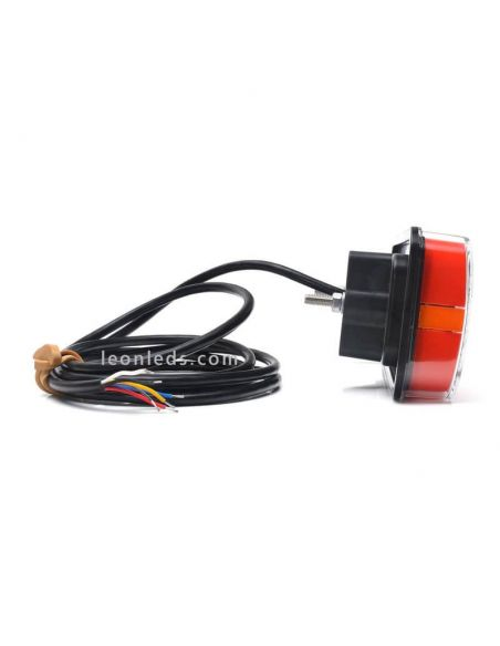 Piloto trasero LED Mini 5 funciones homologados