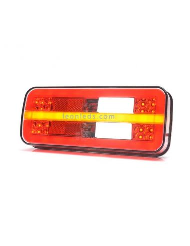 Piloto LED trasero para portabicicletas