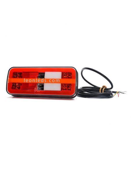 Piloto LED trasero Mini con luz de matricula lateral
