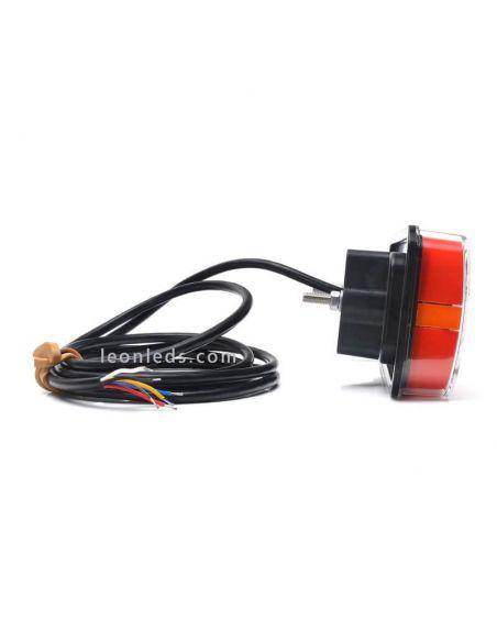 Piloto LED Mini luz de matricula Was