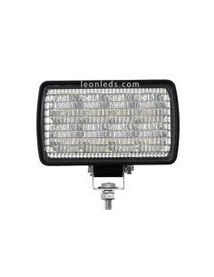 Faro LED rectangular giratorio
