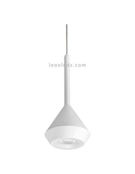 Lámpara de techo LED minimalista Spin Base 5 Metros Blanco texturizada ArkosLight | LeonLeds Iluminación