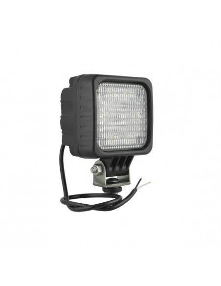 Faro LED Wesem cuadrado con Lente Opaca | Faro Led para tractoro maquinaria industrial | LeonLeds Iluminación