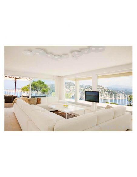 Ambiente Plafón de techo grande Area de Mantra