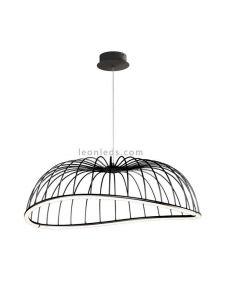 Lámpara colgante LED Negra 40W Celeste 6683