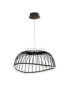 Lámpara colgante LED Negra 6684 Celeste de Mantra