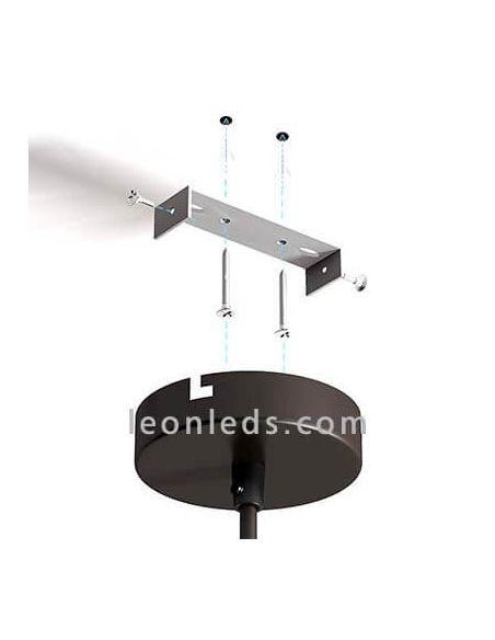 Como instalar Lámpara de techo LED Blanca