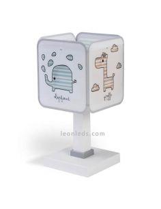 Lámpara de sobremesa serie Baby Zoo de Dalber 75121 | LeonLeds