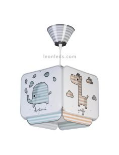 Lámpara colgante Baby Zoo 75122 | LeonLeds
