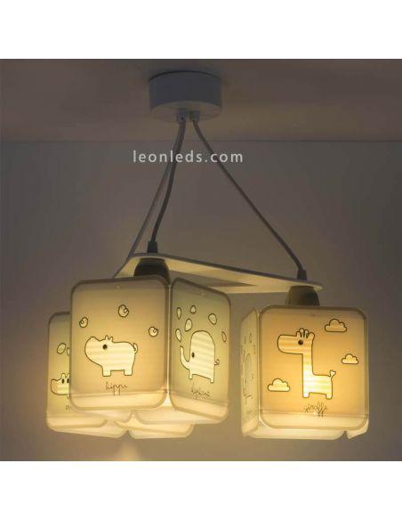 Lámpara Colgante serie Baby Zoo de Dalber | LeonLeds