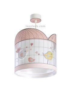 Lámpara infantil de techo serie Little Birds de dalber | LeonLeds