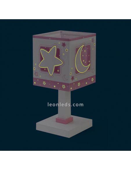 Lámpara de sobremesa Moon Light 63230S | LeonLeds Lámparas
