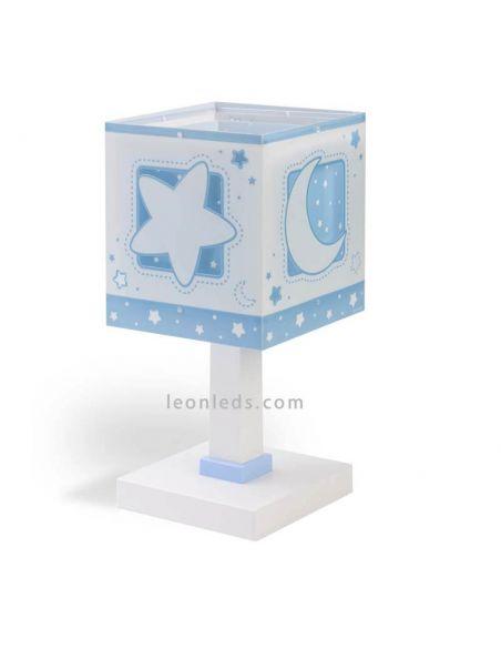 Lámpara de sobremesa Azul Moon Light   LeonLeds 63230T