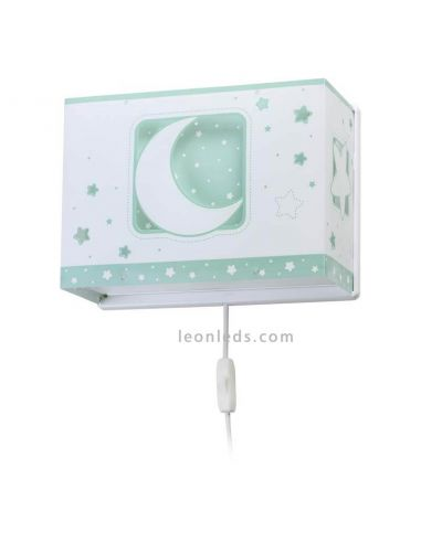 Aplique infantil con interruptor Moon Light de Dalber 63238H   LeonLeds