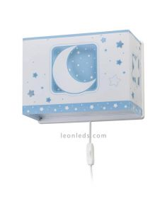 Aplique infantil Azul 63238t Moon Light de Dalber | LeonLeds