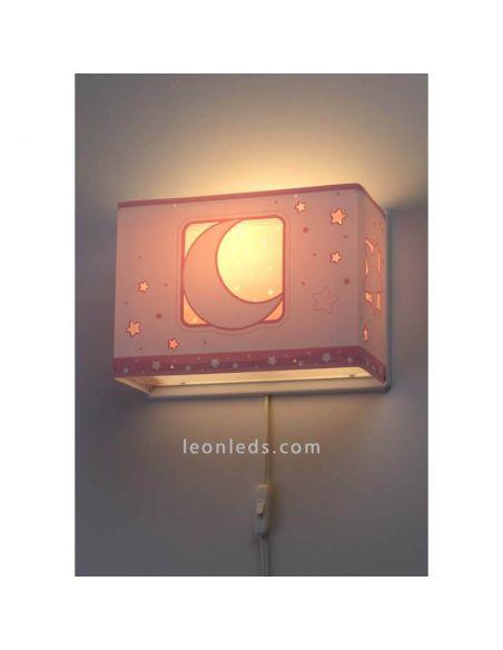 Aplique infantil Moon Light de Dalber serie 63238S | LeonLeds Iluminación infantil