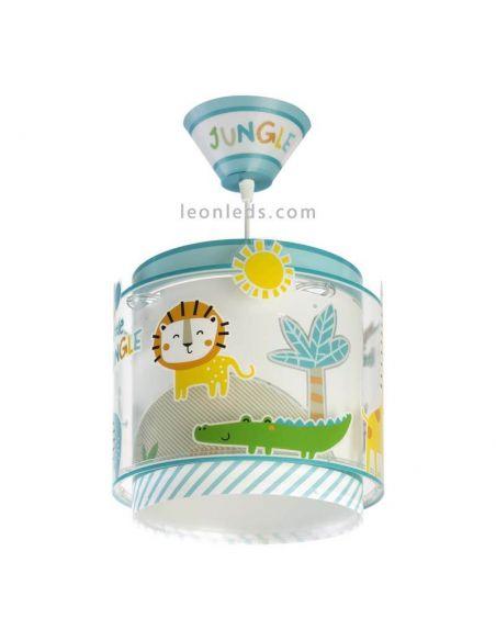 Lámpara de techo infantil My Little Jungle Dalber | LeonLeds