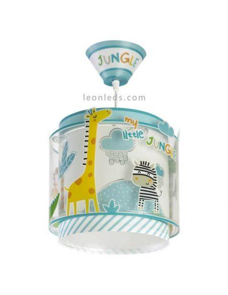 Lámpara de techo infantil serie My Little Jungle de Dalber | LeonLeds