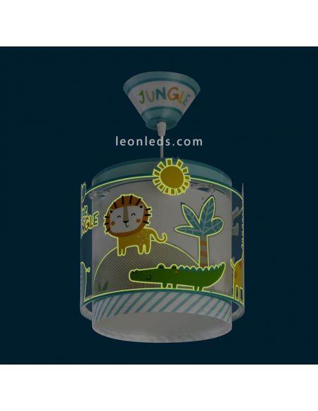 My Little Jungle Dalber Lámpara infantil que brillan en la oscuridad | LeonLeds
