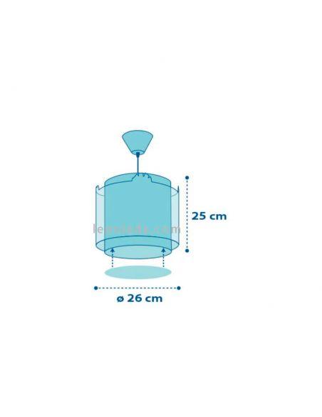 Lámpara de techo infantil con un diseño muy original | LeonLeds