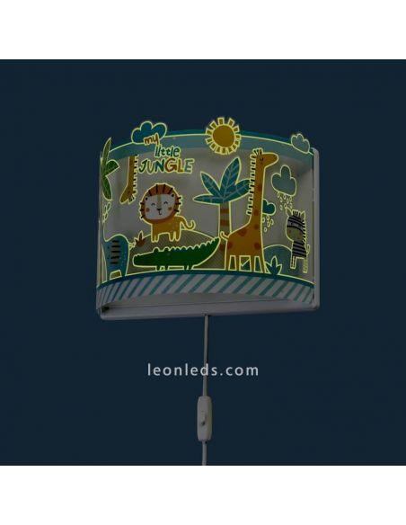 Aplique de Pared My Little Jungle Infantl | LeonLeds