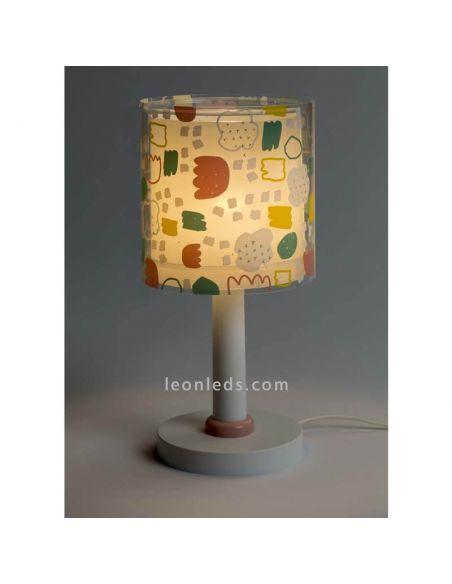 Lámpara de sobremesa infantil serie Secrets de Dabler 41441 | LeonLeds