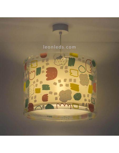 Lámpara de techo infantil serie Secrets de Dalber | LeonLeds