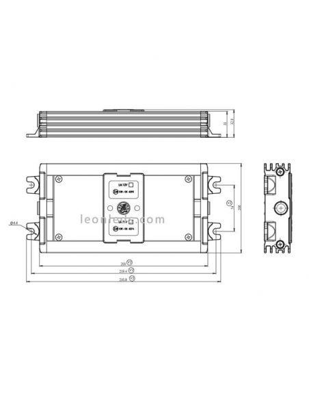 Caja elimina fallos LED Camión Cable LM07