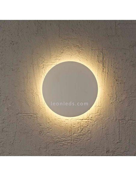 Aplique LED redondo gris Bora Bora Mantra
