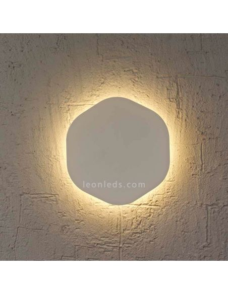 Aplique LED Bora Bora Plateado