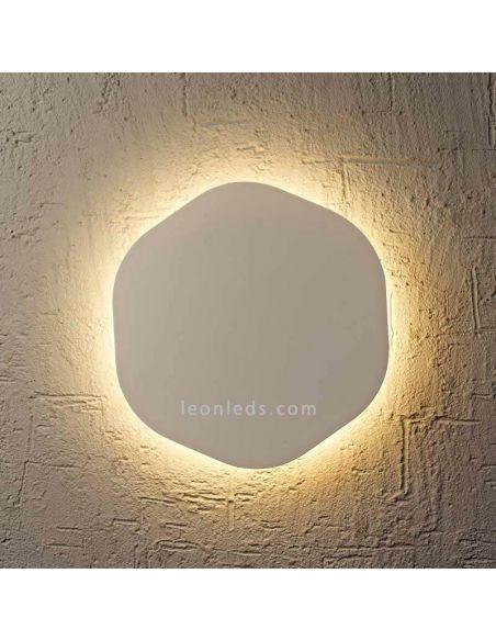 Aplique LED hexagonal Bora Bora Mantra