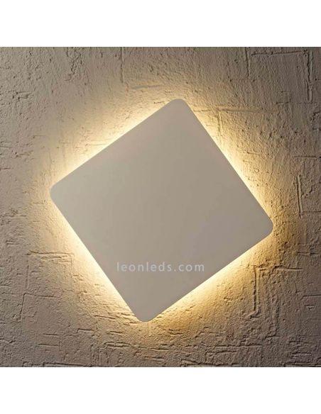 Aplique LED plateado Bora Bora Mantra
