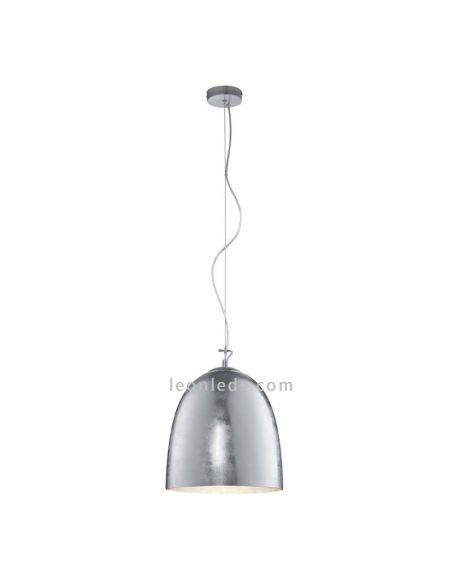 Lámpara de techo Colgante Plateada Ontario