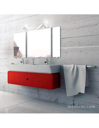 Ambiente aplique LED de baño Sisley de Mantra 5087
